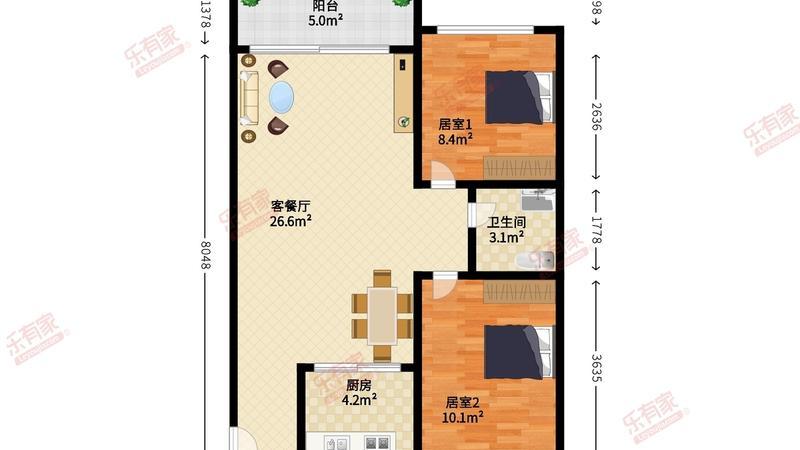 宝安海滨城广场(三期)户型图