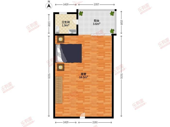 泰然公寓户型图