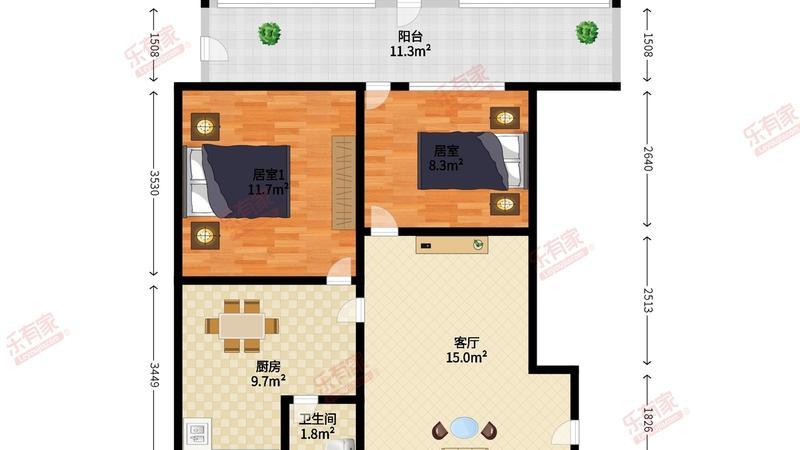 松泉公寓户型图