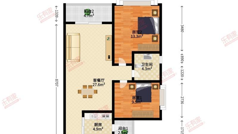 锦绣海湾城6期户型图