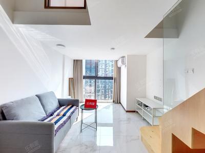 楼下十号线华为地铁口,安静位置,业主诚心出租-深圳华创云轩租房