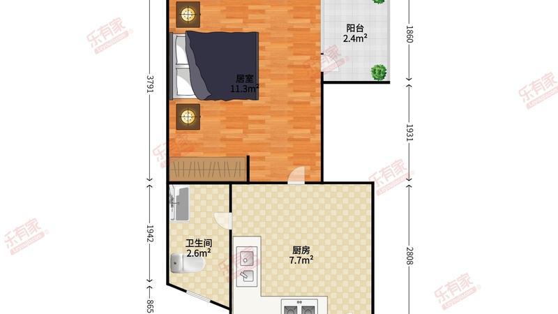 花果山小区户型图