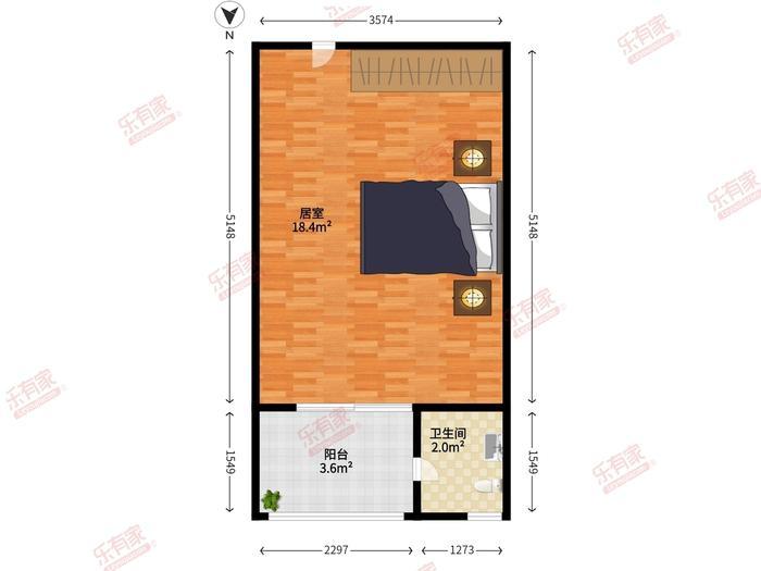 8克拉公寓户型图