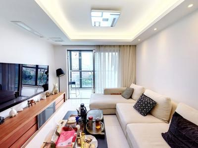 经典豪装复式,全屋品质家私电-深圳绿景香颂花园二手房