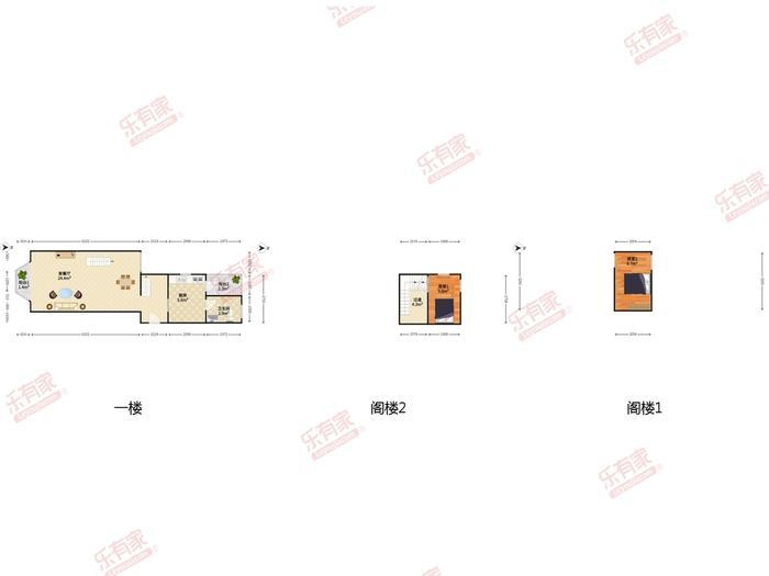 梅林四村户型图