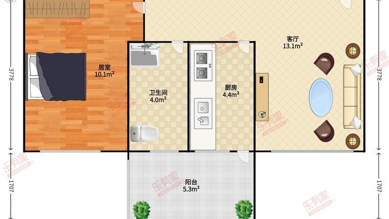 东港印象家园户型图