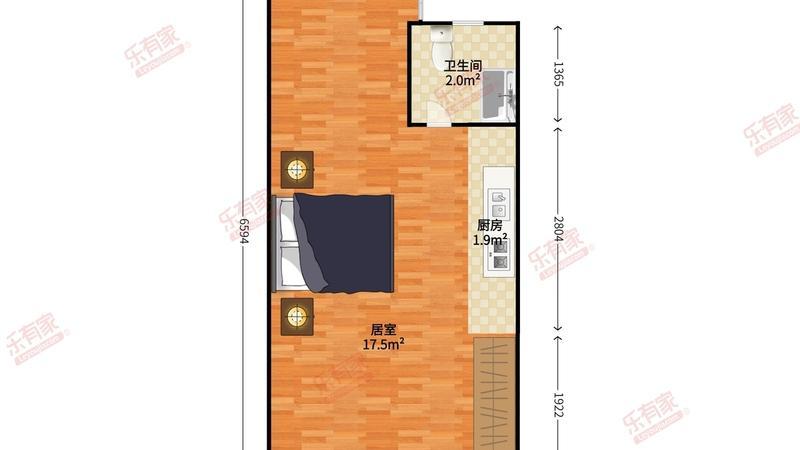 自由港湾公寓户型图