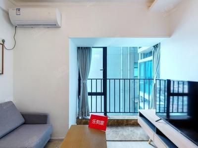 红本满五,全新装修,东南向一房一厅诚心出售-深圳桐林城市广场二手房
