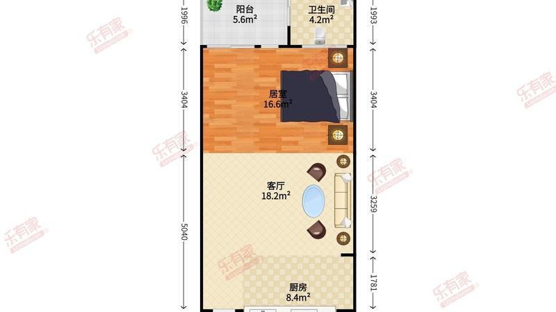 凯旋国际公寓户型图