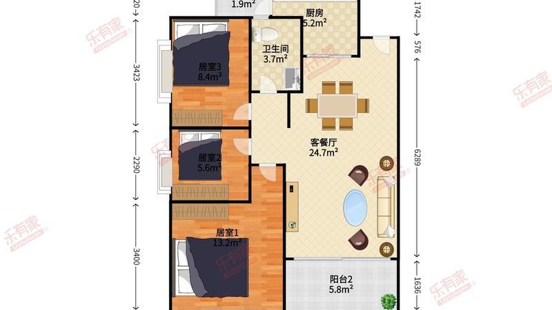 金泽豪庭户型图