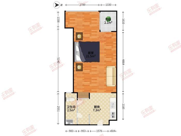 逸林国际公寓户型图