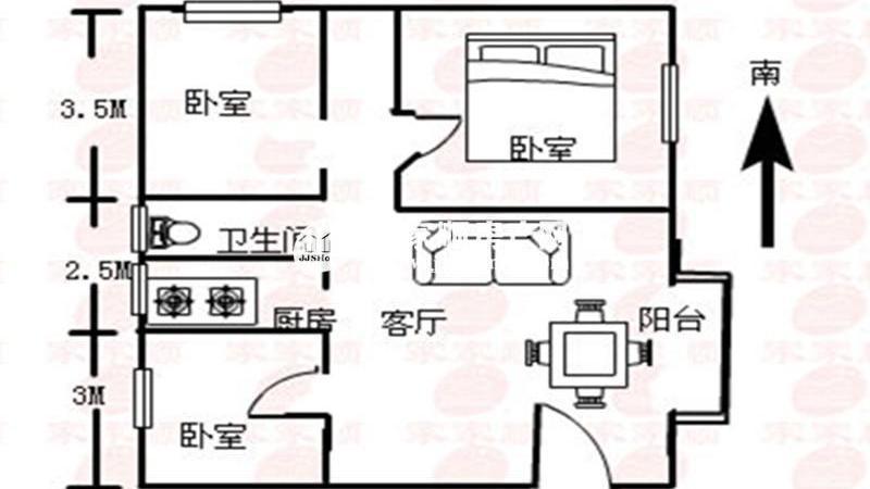 葵花园户型图