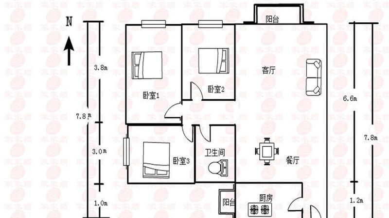 雅居乐城南源著户型图