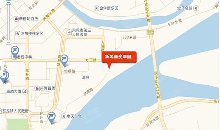 石龙奕翠园位置图