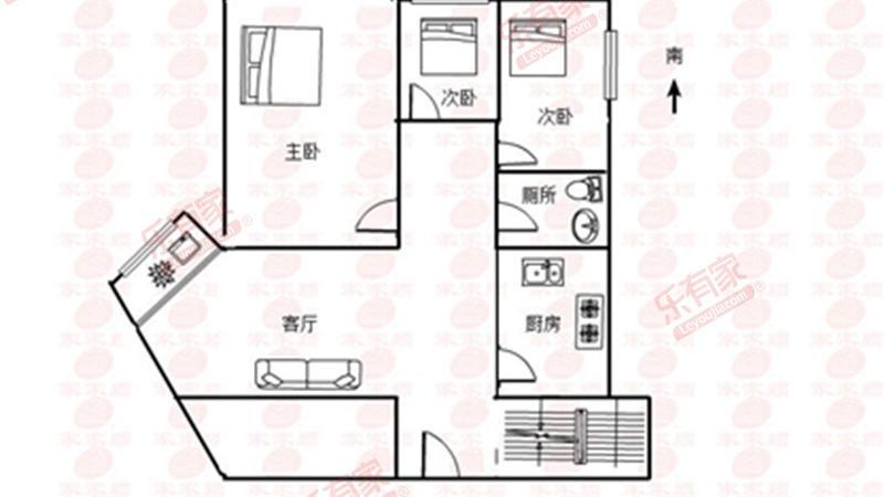 大户型精美复式楼,装修豪华,户型合理通风透气采光好,居住舒适