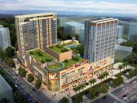 曼诺商业中心实景图