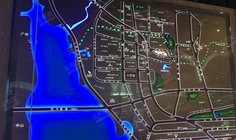 湾景商务中心区位图