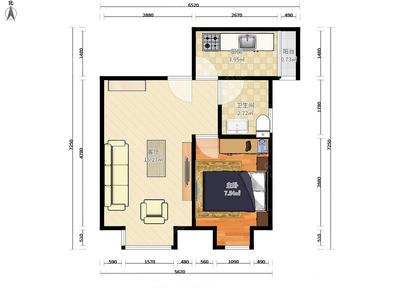 名骏豪庭,电梯南向一房,家私全齐,诚心出租-深圳名骏豪庭租房
