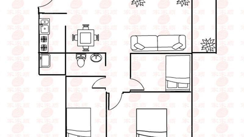 石竹山水园户型图