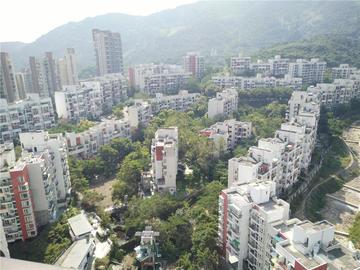 中海半山溪谷