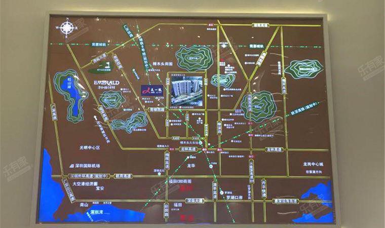 博雅公馆交通图