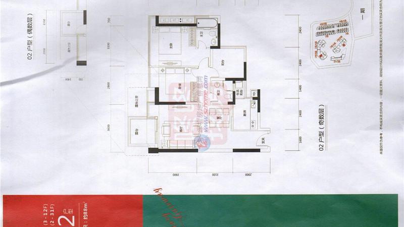 珑门名苑二期户型图