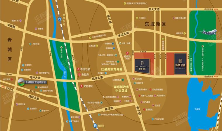 悦珑湾花园(惠州)位置图1