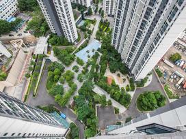 国香山花园实景图