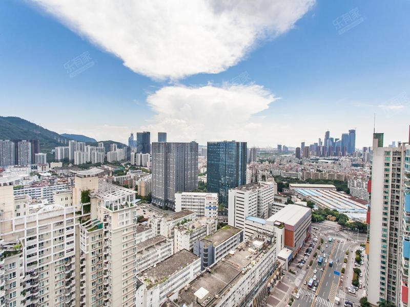 现代城华庭实景图