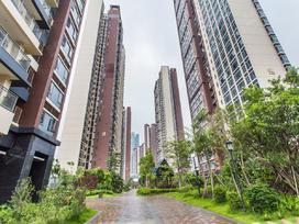 地铁锦上花园实景图
