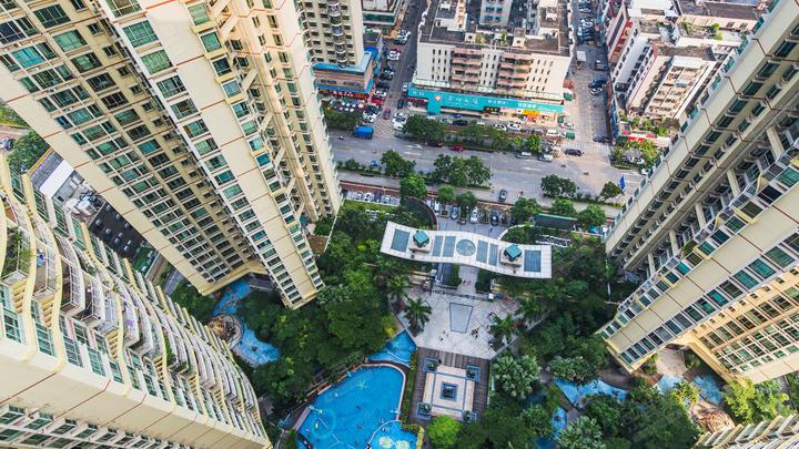 滨海春城实景图