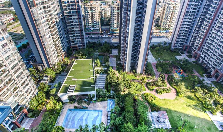 花海湾花园小区内景图1
