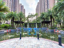 中海龙湾国际实景图