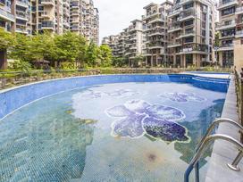 深业紫麟山花园实景图