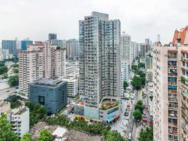 深蓝公寓实景图
