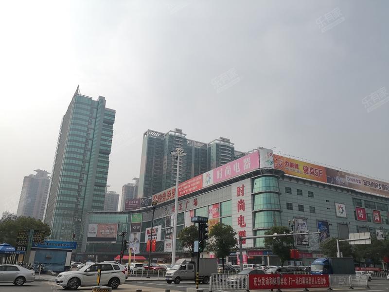 长安地王广场实景图