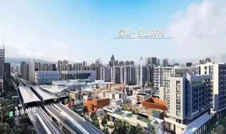 红山6979商业中心(一期)商务公寓效果图1