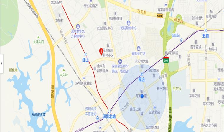 红山6979商业中心(一期)商务公寓配套图