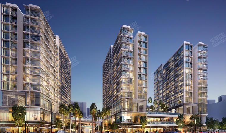 红山6979商业中心(一期)商务公寓效果图4