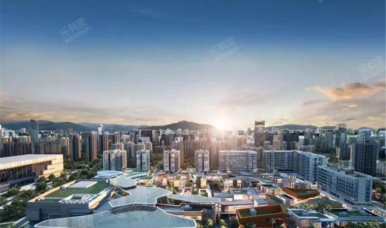 红山6979商业中心(一期)商务公寓效果图3