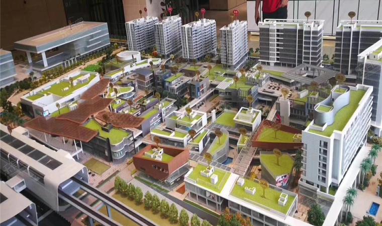 红山6979商业中心(一期)商务公寓沙盘图2