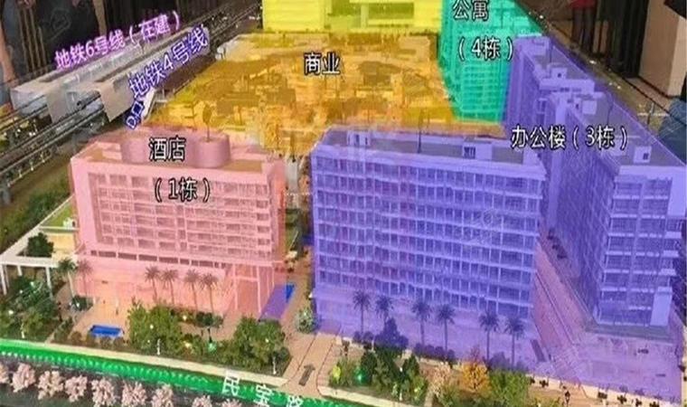 红山6979商业中心(一期)商务公寓效果图2