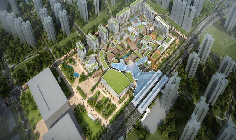 红山6979商业中心(一期)商务公寓效果图6