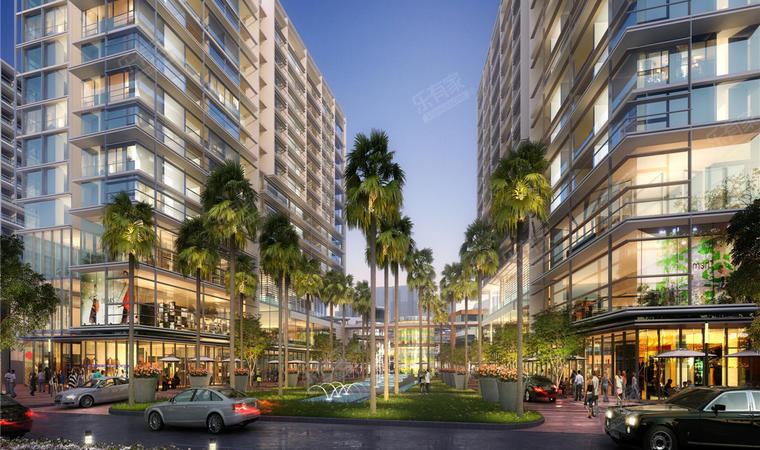 红山6979商业中心(一期)商务公寓效果图5