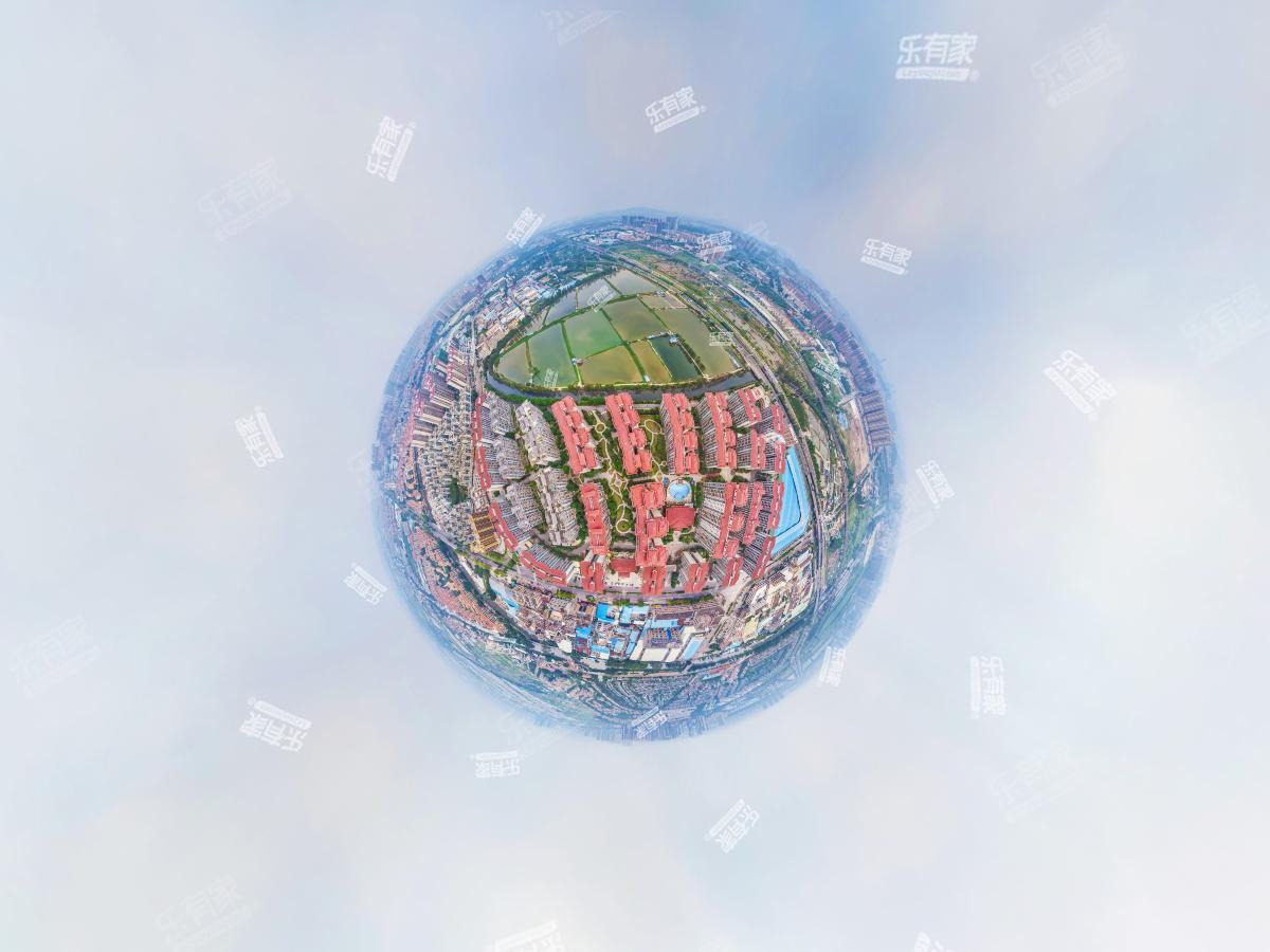 大信芊翠家园航拍