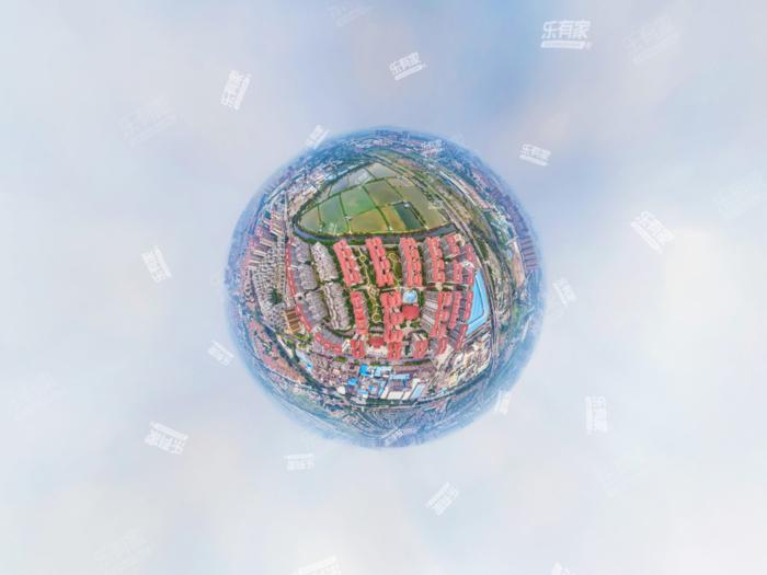 大信芊翠家园小区航拍