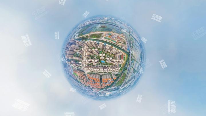 保利国际广场三期航拍