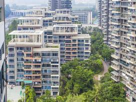 绿景城市立方实景图