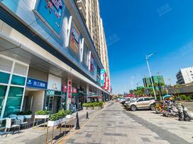 六和商业广场一期实景图