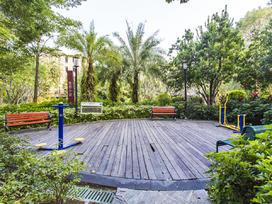 星河时代花园实景图